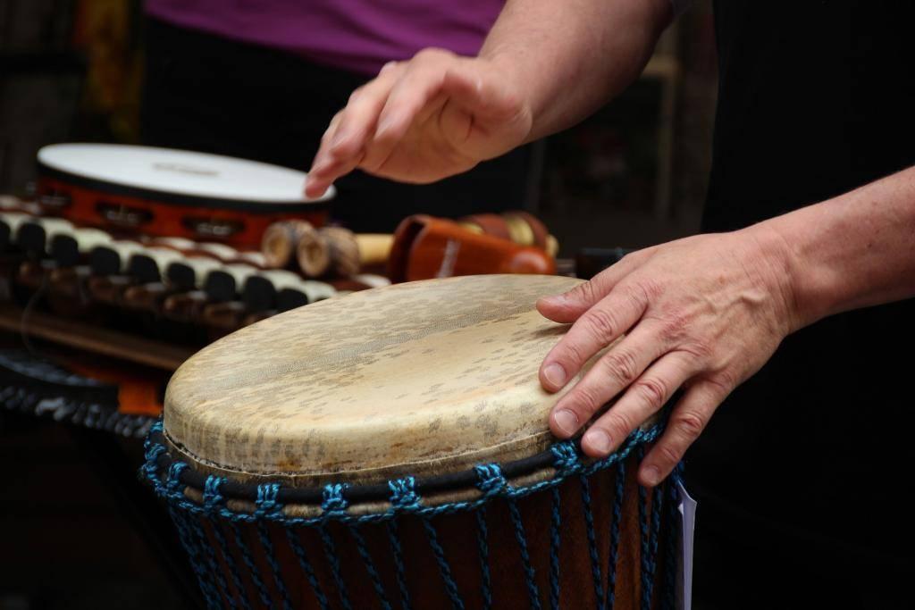 Djembe - Trommel Workshop